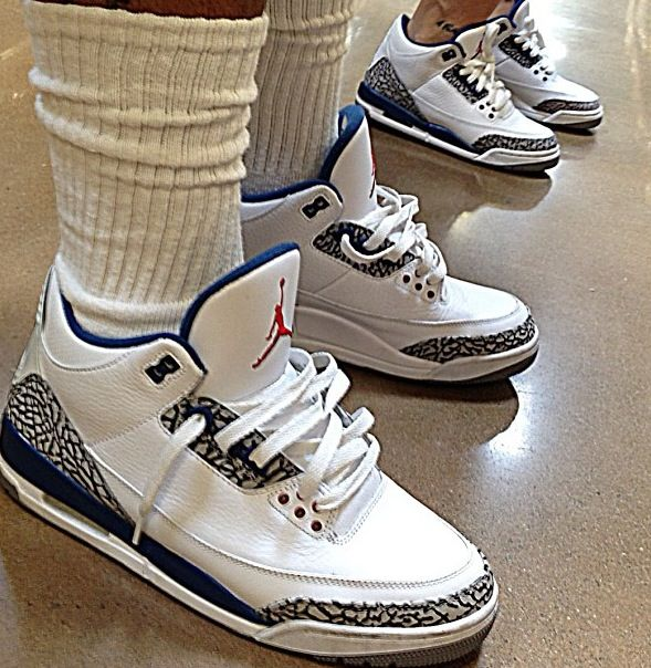 True blues are one of my favorites to wear  #jordan #couples #love