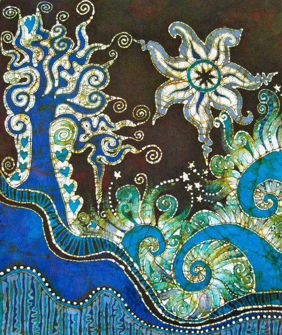Trinidad Batik Print By Batikwalla On Etsy, $20.00