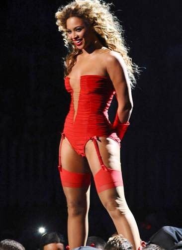 this might be my favorite pic of beyonce...because she has ...