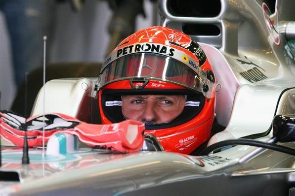 Michael Schumacher (GER) Mercedes AMG F1 W03. Formula One World Championship, Rd18, Abu Dhabi Grand Prix, Practice, Yas Marina Circuit, Abu Dhabi, UAE, Friday, 2 November 2012