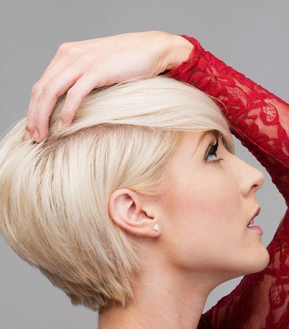 Voor inspiratie betreft korte kapsels met iets meer lengte moeten jullie deze geweldig mooie kortere kapsels eens bekijken! - Kapsels voor haar