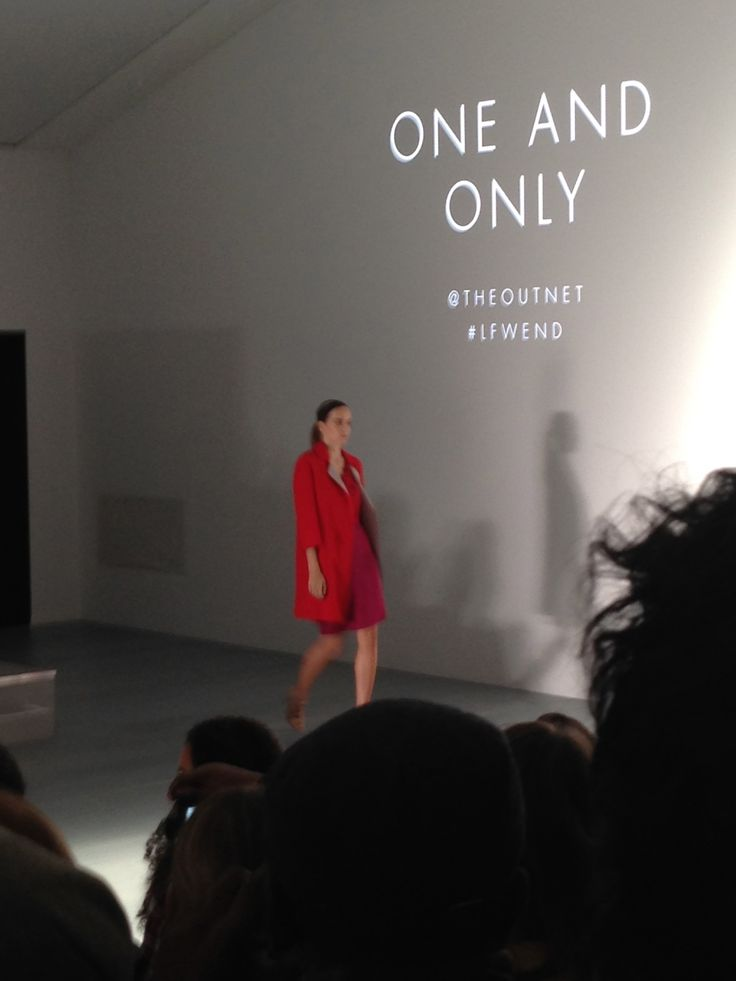 One and Only was one of the trend collections showing at LFW end.  Pillar box red is set to be a big trends for a/w 2014.