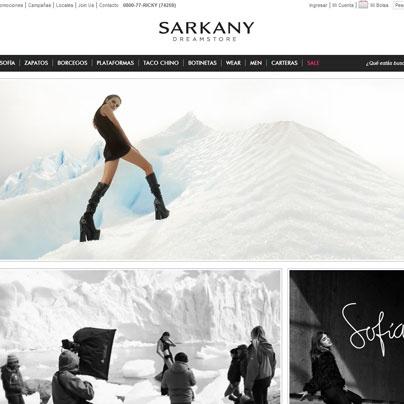 Tienda online de @SARKANY, donde podés comprar todos sus modelos sin moverte de tu casa!