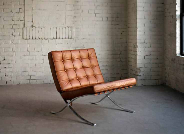 #Chair by Mies van der Rohe