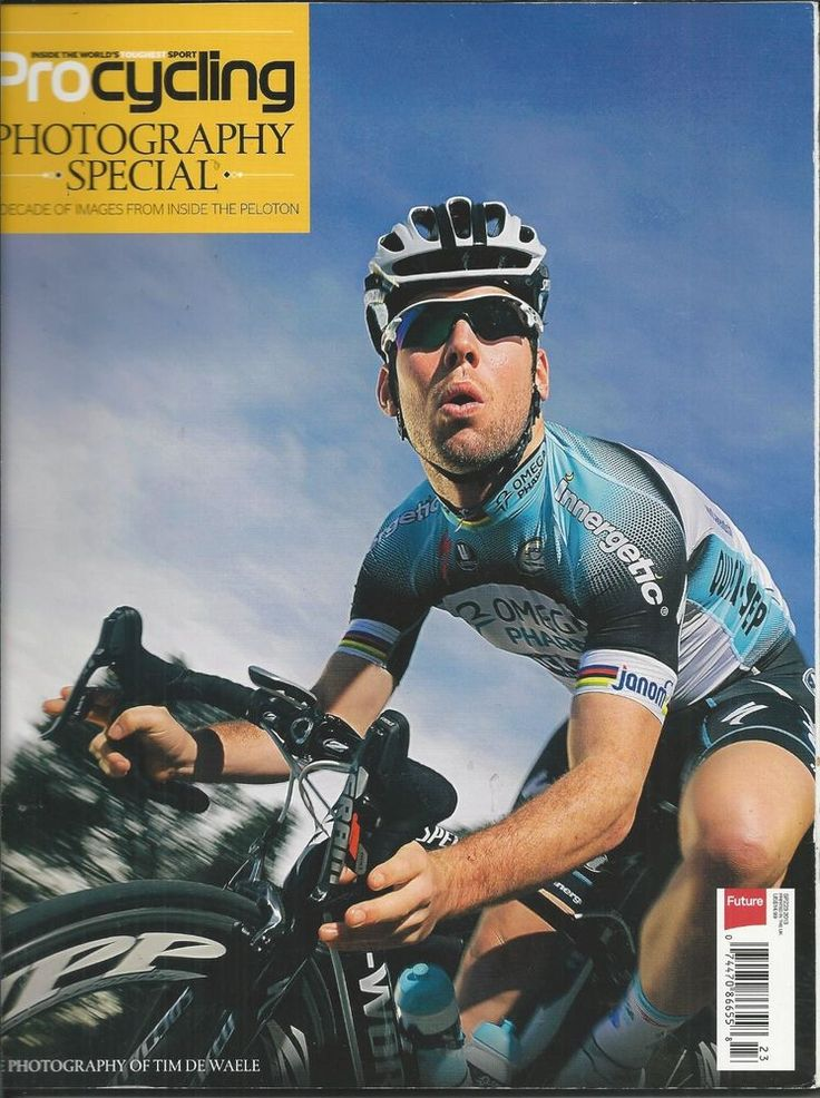 Pro Cycling magazine Photography special Mark Cavendish Bradley Wiggins Teams