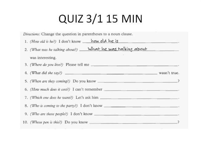 1 - 15 - Clauses 6 - Noun Clauses (A - PDF w Answers).pdf - Google ...