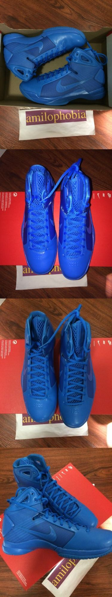 Basketball: New Mens Nike Hyperdunk 08 Size 8.5 Photo Blue Basketball Shoes -> BUY IT NOW ONLY: $64.0 on eBay!