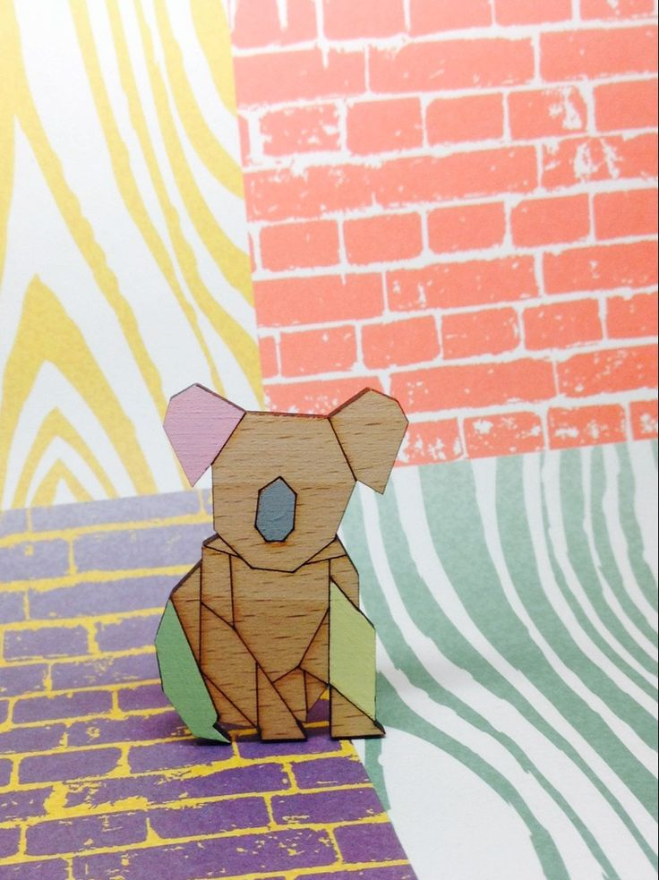how to make a koala bear out of paper