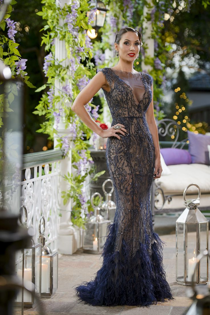 Snezana Markoski.. Philippa Galasso nude gown, Samantha Wills jewels, and Tony Bianco heels..