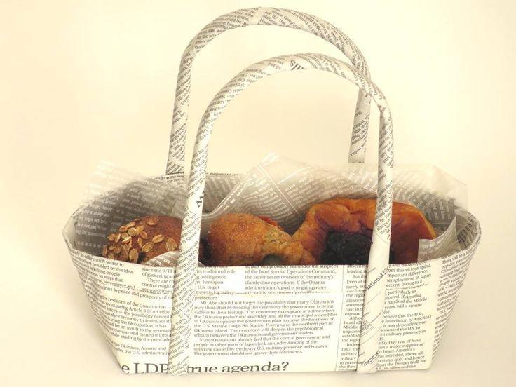 6月11日(木)14時~16時30分 新聞で、こんなにかわいいバッグができるとは!目からうろこの…