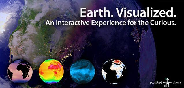 Terra Visualizzati per Android - splendido meteo mondiale in 3D!