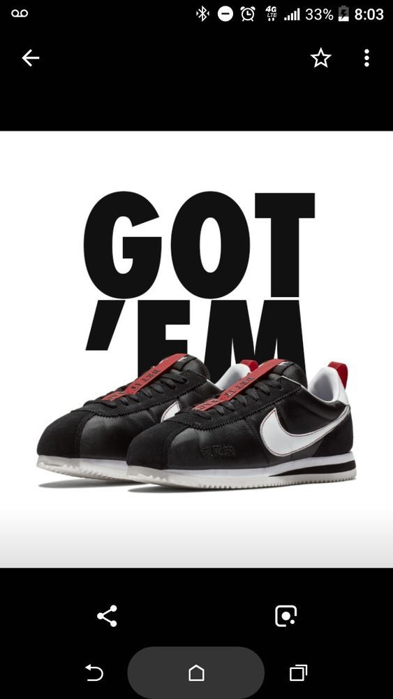 lowest price d6fe2 4ac55 Nike Cortez Kenny 3 Size 10 Kendrick Lamar #fashion ...
