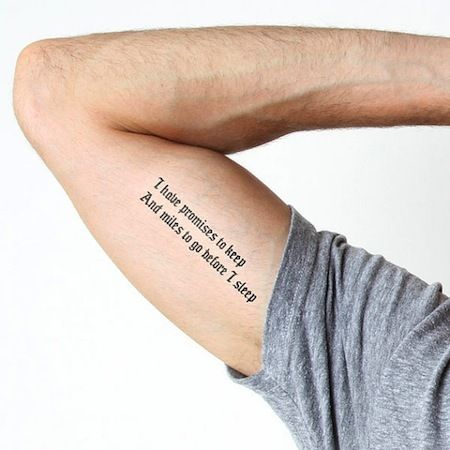 Temporary tattoos for book-lovers