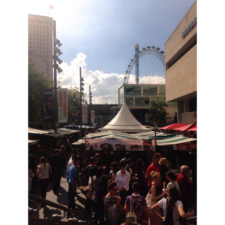 Southbank Food Festival, London