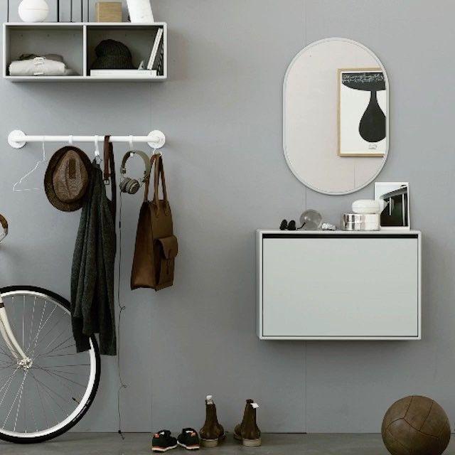 Create a hallway with personality. #montanafurniture #danishdesign #hallwaydecor #interiordesign #homedecor #nordicstyle