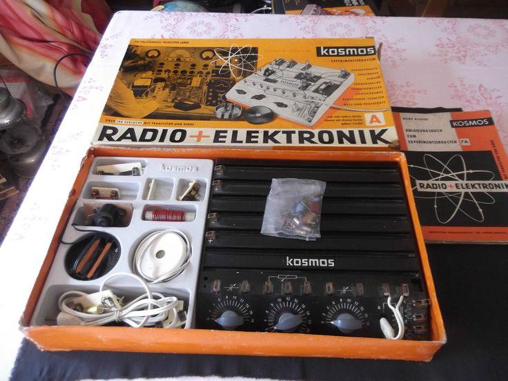 Experimentierkasten, KOSMOS, Radio + Elektronik 7; 220 Volt,50 er Jahre | eBay