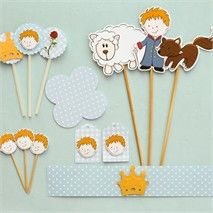 The Little Prince clipart and paper designs