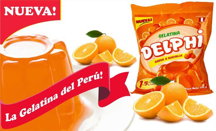 #LaGelatinadelPeru #ProductosDelphi #Postresenpolvo #Gelatinanaranja Productos Delphi - La Gelatina del Perú, disfrútala en sabor naranja.  Pedidos, teléfonos fijo 576-4892 móvil 999-090-503 ventas@productosdelphi.com  @ProductosDelphi Ventas a nivel nacional - Producto Peruano Distribución y pedidos a nivel nacional - Producto Peruano https://www.google.com/maps/d/viewer?mid=1pB6qWYrZQ6_BKwS9VWNb2hBeCyE&ll=-12.09675064245161%2C-76.9579195&z=11
