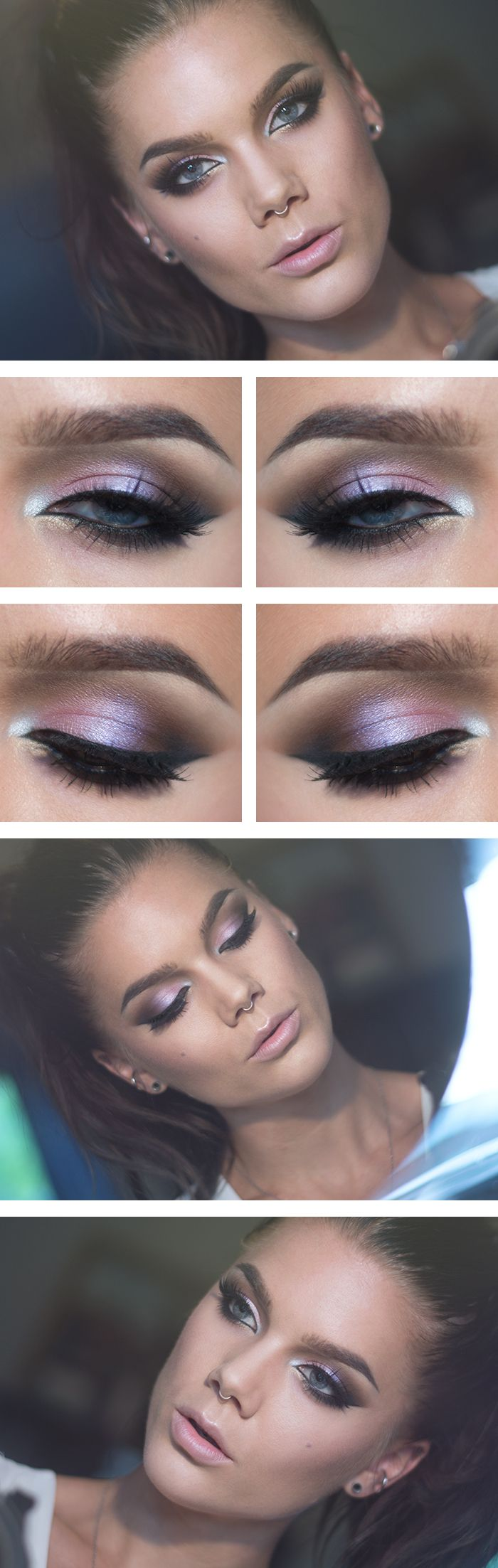 Stunning eye makeup  #eyes #makeup #beauty #mua #bbloggers