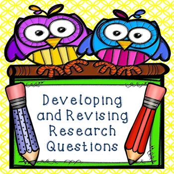 This Omega English product contains a 3 page handout on developing strong research question. In addition, it contains differentiated peer revision sheets that allow students to reflect, evaluate their peer's questions, and provide a justification for their evaluation. A checklist with a catchy acronym is also included to help students focus and develop their questions. Teachers instructions are included.