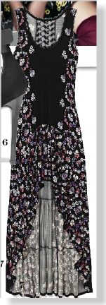 Jessica Simpson Dress, $69. Clipped from the print page of Marie Claire using Netpage.
