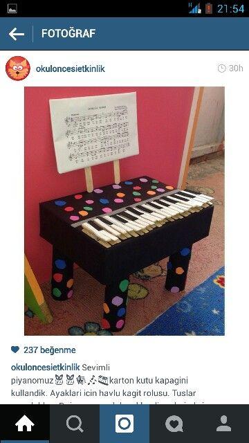 #okul #öncesi #piyano #müzik #eğitimi