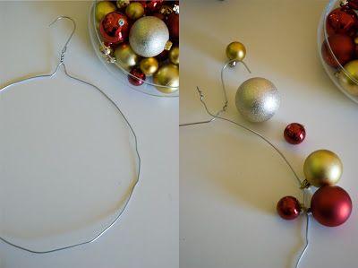 Il giorno che vorrei...: Ghirlanda di Natale DIY: Tutorial