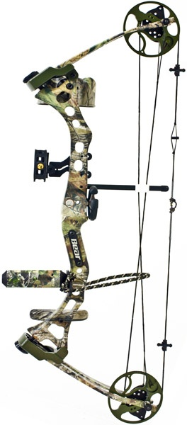 2012 Bear Apprentice Compound Bow. Great starter bow, and for those who may be smaller in stature!