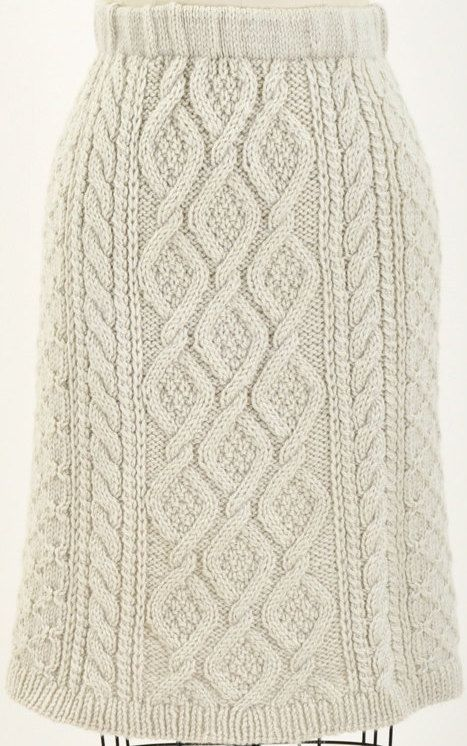 cable knit skirt maevenvintage on Etsy