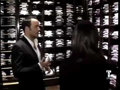Tom Ford at New York Flagship Store / Uber Bachelor Pad / Retail Customer Experience