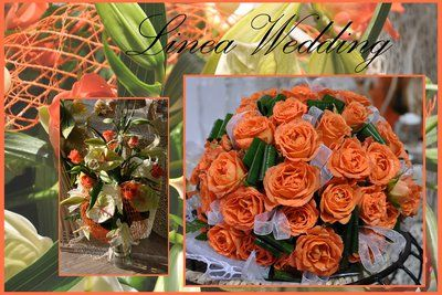 #CERIMONIE#wedding#arancio#matrimoni#rose ramificate