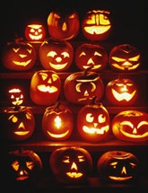 Halloween jack-o'-lantern templates for the perfect pumpkins