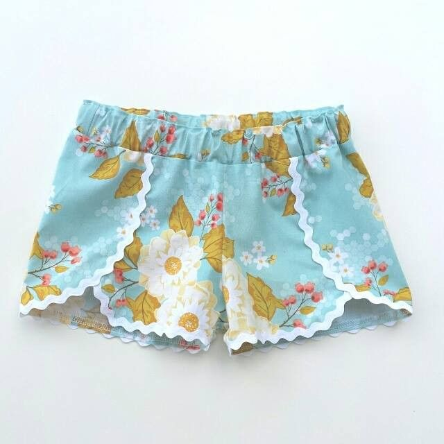 No disponible para la compra. Coachella Shorts Pattern 6m-12yrs