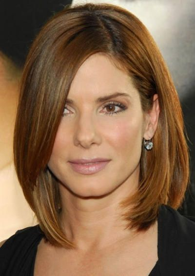 Medium length hairstyles are the