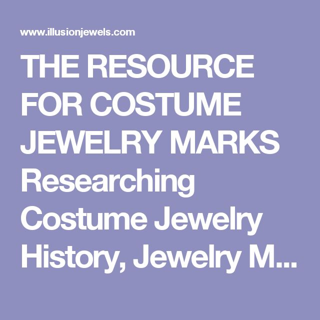 Researching Costume Jewelry >> 36 Best 0 Jewelry Research Sites And Info Images On Pinterest