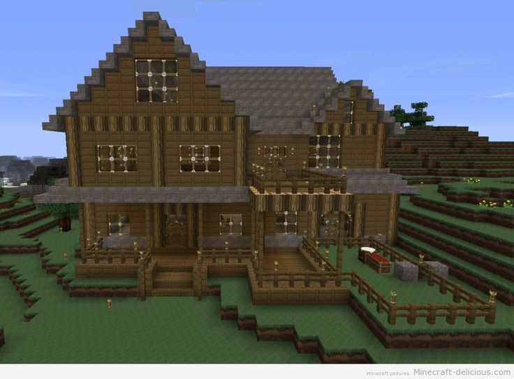 Minecraft mansion house