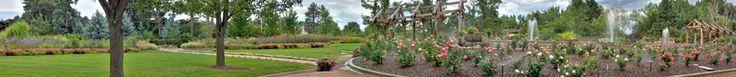 Oval Garden and Rose Garden at Hudson Garden