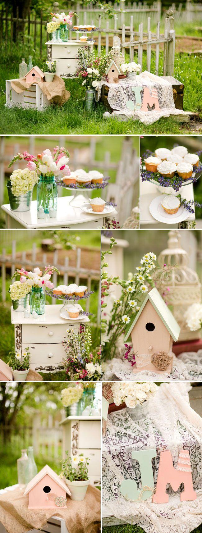 Garden Bridal Shoot At Grey Gables Farm