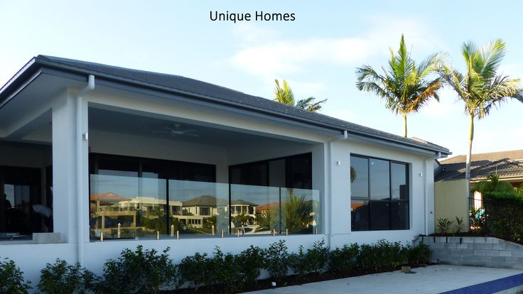 Luxury Home built on the water #waterfronthome #goldcoastbuilder