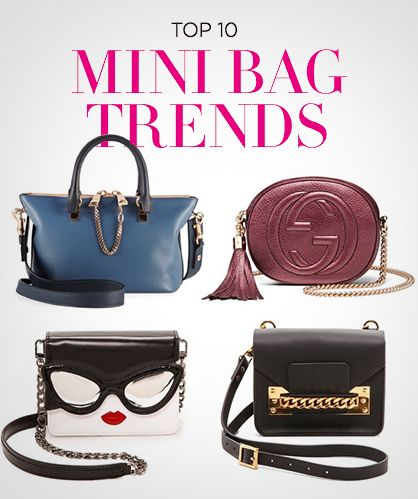 10 Favorite Mini Handbag Trends