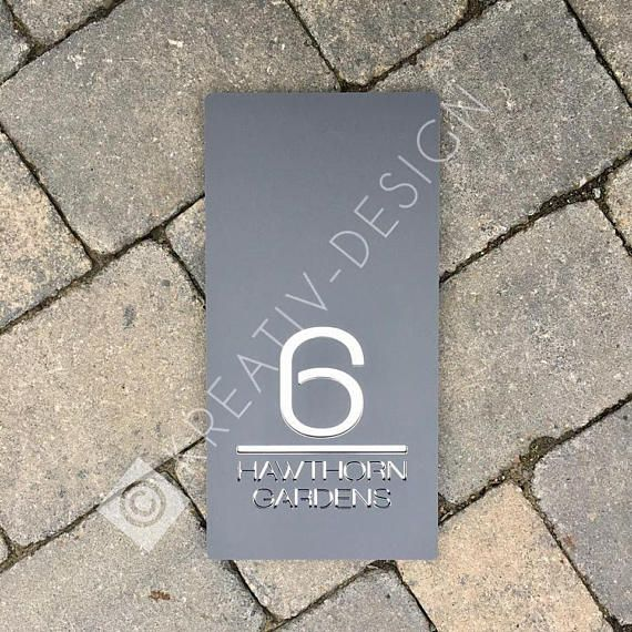 Best 25+ Contemporary house numbers ideas on Pinterest ...