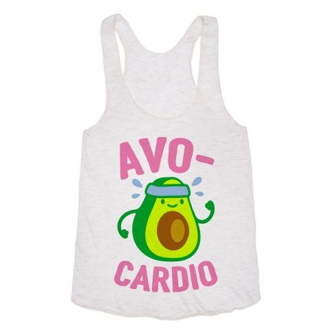Eat your avocados and go for a run!