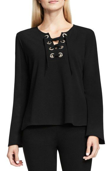 Vince Camuto Bell Sleeve Top available at #Nordstrom