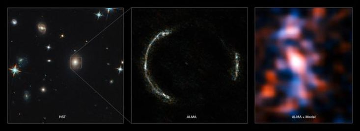 Most detailed view ever of star formation in distant universe -- ScienceDaily