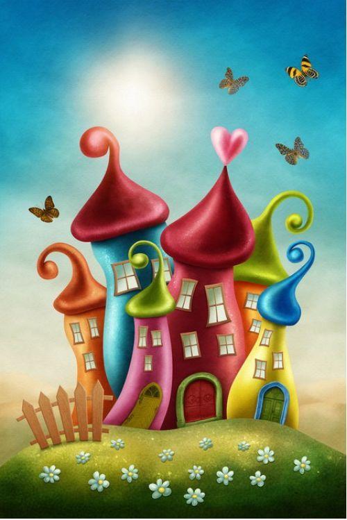 Magical Kingdoms  from $39.99 | www.wallartprints.com.au #MagicalKingdom #ArtForKids