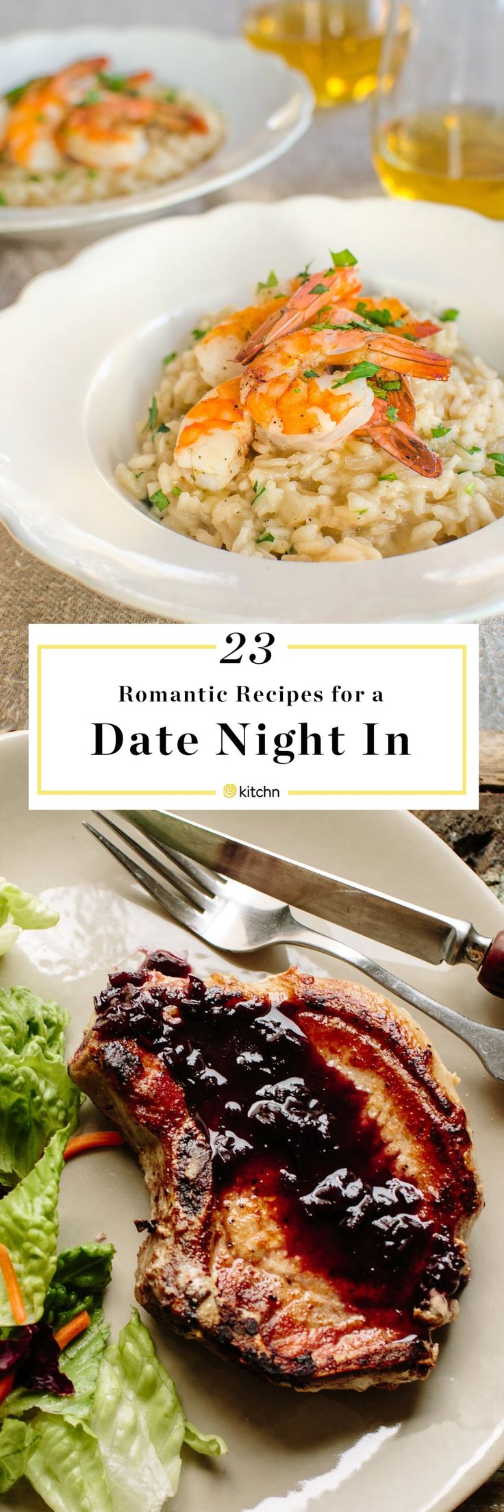 23 Romantic Recipes to Make for Someone You Love (Including Yourself). Looking for ideas at home and recipes to make for a date night in or valentine's day dinners? We have everything you need from romantic main dishes for two to sides.