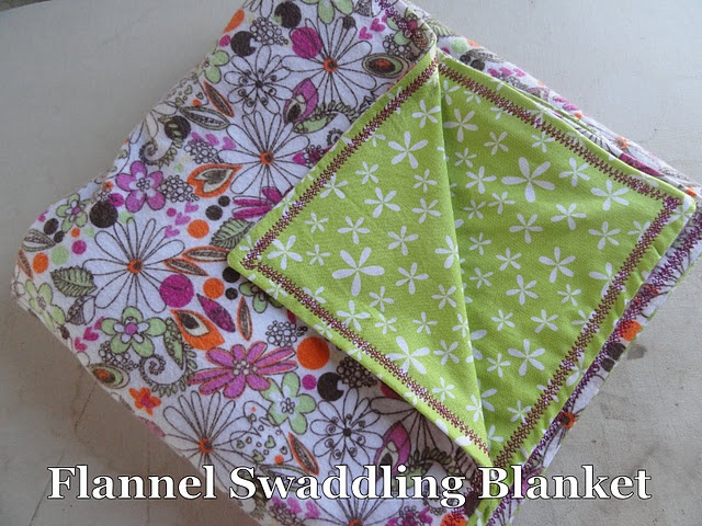 Flannel Swaddling Blanket
