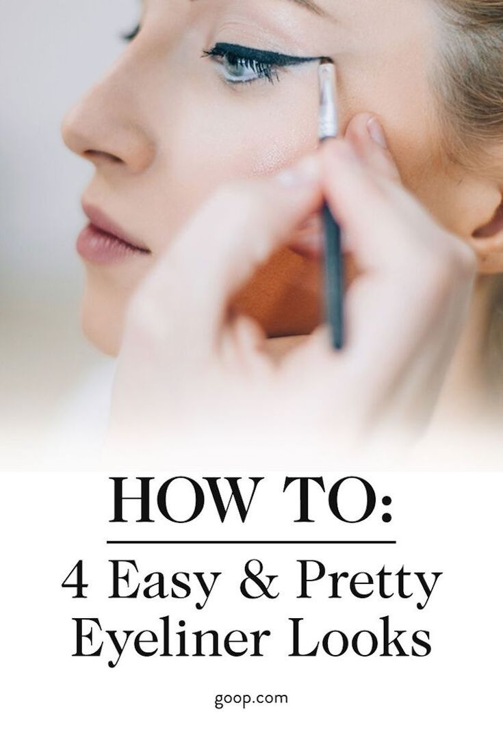 How to do 4 different eyeliner looks for every event and occasion.