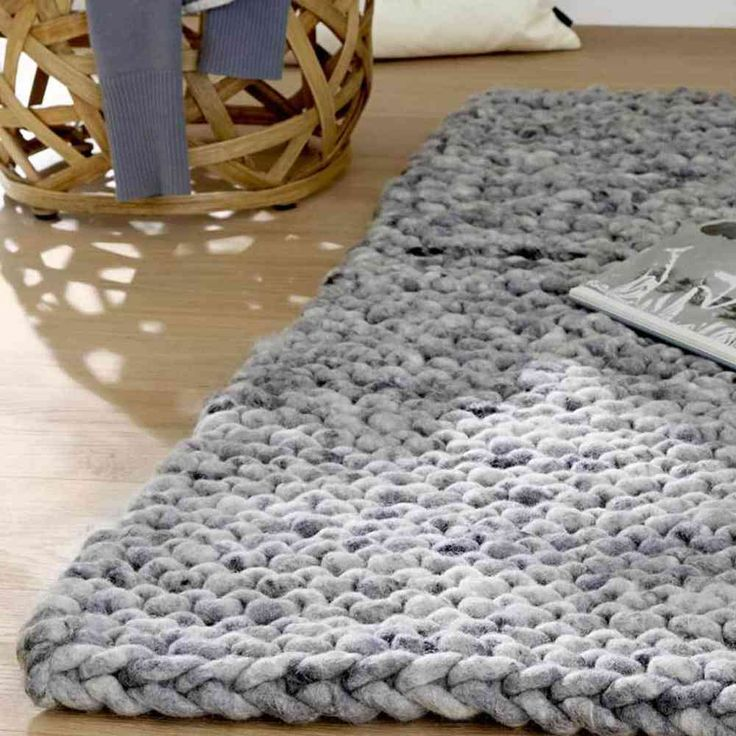 371 best images about knit crochet rugs floor mats for Floor knitting