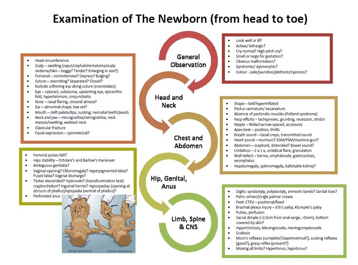 newborn assessment The proportion of babies eligible for the newborn physical examination who are  tested for all 4 components (3 components in female infants) of.